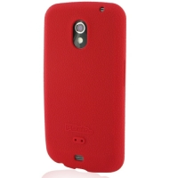 Luxury Silicone Case for Samsung Galaxy Nexus GT-i9250 SCH-i515 (Red)