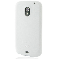 Luxury Silicone Case for Samsung Galaxy Nexus GT-i9250 SCH-i515 (White)