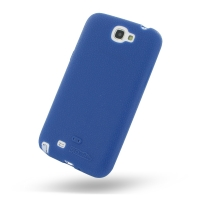 Luxury Silicone Case for Samsung Galaxy Note 2 | Samsung Galaxy Note2 | GT-N7100 (Blue)