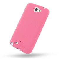 Luxury Silicone Case for Samsung Galaxy Note 2 | Samsung Galaxy Note2 | GT-N7100 (Pink)