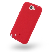 Luxury Silicone Case for Samsung Galaxy Note 2 | Samsung Galaxy Note2 | GT-N7100 (Red)