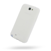 Luxury Silicone Case for Samsung Galaxy Note 2 | Samsung Galaxy Note2 | GT-N7100 (White)
