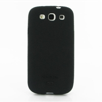 Luxury Silicone Case for Samsung Galaxy S III S3 GT-i9300 (Black)