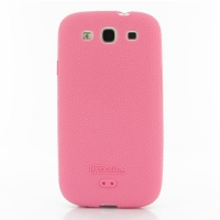 Luxury Silicone Case for Samsung Galaxy S III S3 GT-i9300 (Pink)