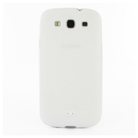 Luxury Silicone Case for Samsung Galaxy S III S3 GT-i9300 (White)