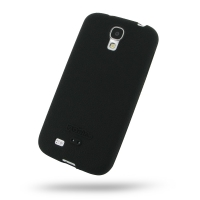 Luxury Silicone Case for Samsung Galaxy S4 SIV LTE GT-i9500 GT-i9505 (Black)