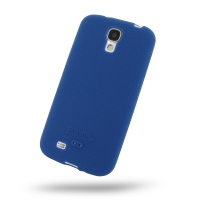 Luxury Silicone Case for Samsung Galaxy S4 SIV LTE GT-i9500 GT-i9505 (Blue)