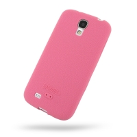 Luxury Silicone Case for Samsung Galaxy S4 SIV LTE GT-i9500 GT-i9505 (Pink)