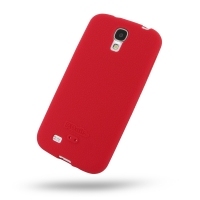 Luxury Silicone Case for Samsung Galaxy S4 SIV LTE GT-i9500 GT-i9505 (Red)
