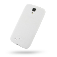 Luxury Silicone Case for Samsung Galaxy S4 SIV LTE GT-i9500 GT-i9505 (White)