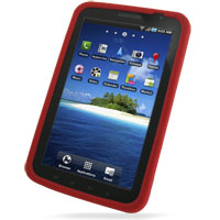 Luxury Silicone Case for Samsung Galaxy Tab GT-P1000 SGH-T849 (Red)