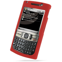 Luxury Silicone Case for Samsung SGH-i780 (Red)