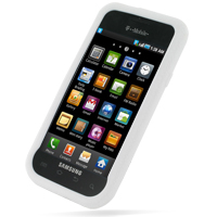 Luxury Silicone Case for Samsung Vibrant Galaxy S SGH-T959 (White)