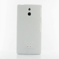 Sony Xperia P Luxury Silicone Soft Case (White) PDair Premium Hadmade Genuine Leather Protective Case Sleeve Wallet
