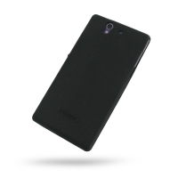 Luxury Silicone Case for Sony Xperia Z L36H (Black)