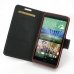 HTC Desire 820 Leather Flip Carry Cover top quality leather case by PDair