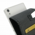 Huawei Ascend P7 Leather Flip Carry Case top quality leather case by PDair
