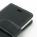 iPhone 5c Leather Flip Carry Cover genuine leather case by PDair
