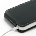 iPhone 5c Leather Flip Top Carry Case top quality leather case by PDair