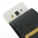 Samsung Galaxy A3 Leather Flip Carry Case genuine leather case by PDair