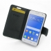 Samsung Galaxy Core 2 Leather Flip Carry Cover top quality leather case by PDair