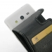 Samsung Galaxy Core 2 Leather Flip Carry Case genuine leather case by PDair