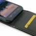 Samsung Galaxy S6 Active Leather Flip Top Carry Case genuine leather case by PDair