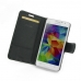 Samsung Galaxy Grand Prime Leather Flip Carry Cover top quality leather case by PDair