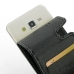 Samsung Galaxy Grand Prime Leather Flip Carry Case genuine leather case by PDair