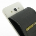 Samsung Galaxy J7 Leather Flip Carry Case genuine leather case by PDair