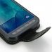 Samsung Galaxy Xcover 3 Leather Flip Carry Case handmade leather case by PDair