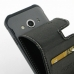 Samsung Galaxy Xcover 3 Leather Flip Carry Case genuine leather case by PDair