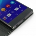 Sony Xperia Z3+ Plus / Xperia Z4 Leather Flip Carry Cover genuine leather case by PDair