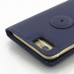 iPhone 6 6s Leather Flip Carry Cover (Purple) protective carrying case by PDair