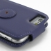iPhone 6 6s Leather Flip Top Carry Case (Purple) protective carrying case by PDair