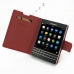 BlackBerry Passport Leather Flip Carry Cover (Red) top quality leather case by PDair