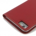 iPhone 6 6s Plus Leather Flip Carry Cover (Red) protective carrying case by PDair