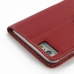 iPhone 6 6s Plus Leather Smart Flip Cover (Red) protective carrying case by PDair
