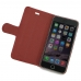 iPhone 6 6s Plus Leather Smart Flip Cover (Red) top quality leather case by PDair