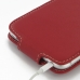 iPhone 6 6s Plus Leather Flip Carry Case (Red) handmade leather case by PDair