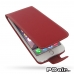 iPhone 6 6s Plus Leather Flip Carry Case (Red) best cellphone case by PDair