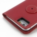 iPhone 6 6s Leather Flip Carry Cover (Red) protective carrying case by PDair