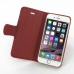 iPhone 6 6s Leather Smart Flip Cover (Red) top quality leather case by PDair