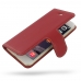 iPhone 6 6s Leather Smart Flip Cover (Red) best cellphone case by PDair