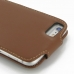 iPhone 6 6s Plus Leather Flip Top Carry Case (Brown) handmade leather case by PDair
