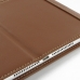 iPad Air 2 Leather Flip Carry Cover (Brown) top quality leather case by PDair