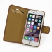 iPhone 6 6s Leather Flip Carry Cover (Brown) top quality leather case by PDair