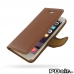 iPhone 6 6s Leather Flip Carry Cover (Brown) best cellphone case by PDair