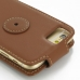 iPhone 6 6s Leather Flip Top Carry Case (Brown) handmade leather case by PDair