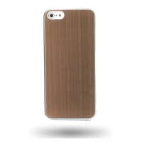 Plastic Hard Case for Apple iPhone 5 | iPhone 5s (Chocolate Brown)